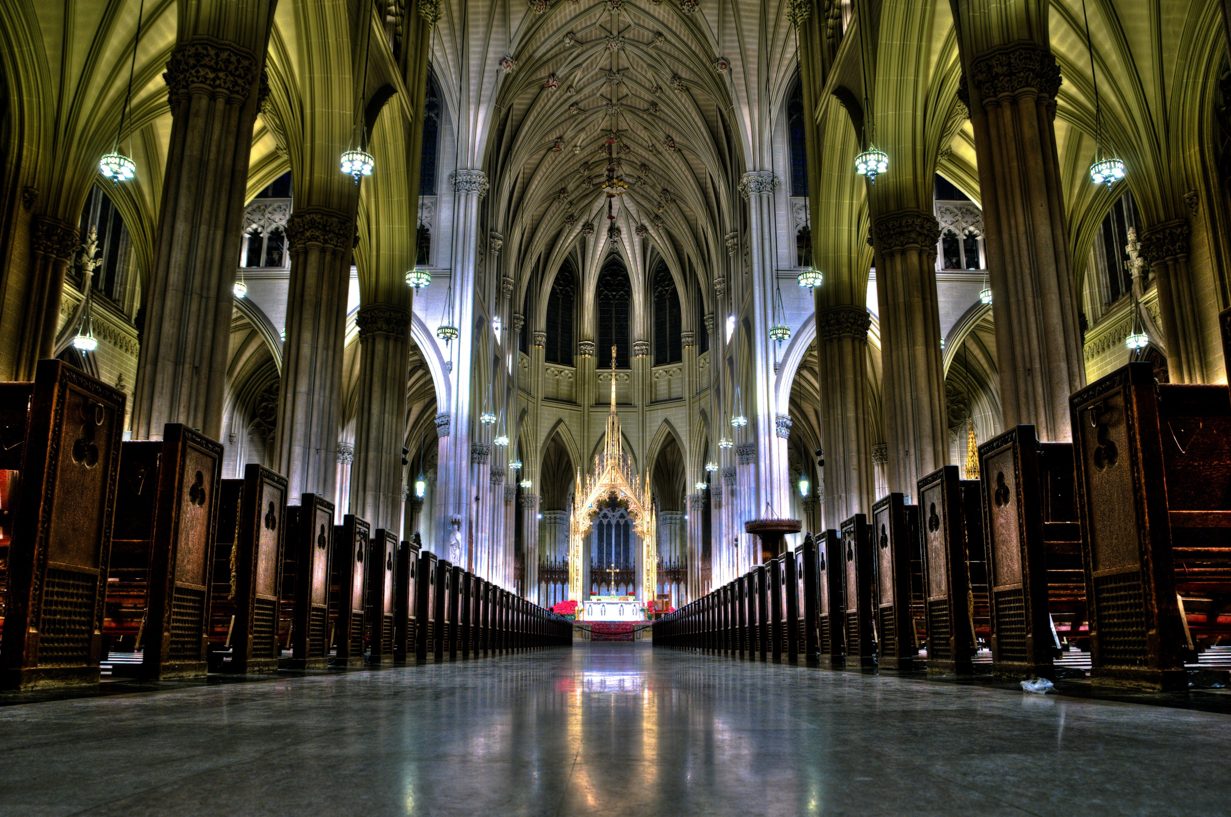 commentary the merger verger st patrick s cathedral new york 1